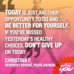 Today is an opportunity to better yourself