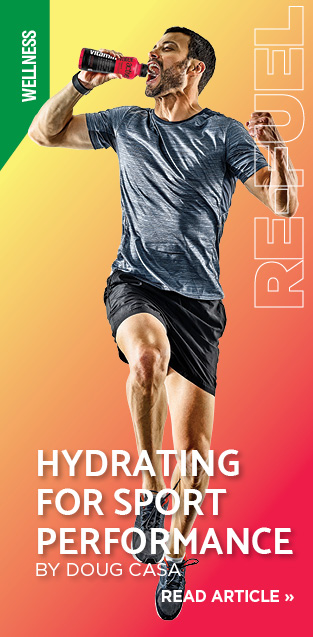 Hydrating for sport performance