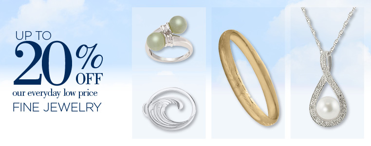 Save Up to 30% Off Fine Jewelry