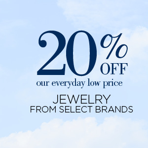20% Off Select Jewelry Brands
