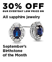 30% off All Sapphire jewelry