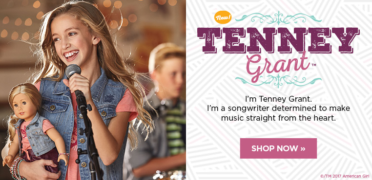 Meet Tenney Grant, the newest American Girl