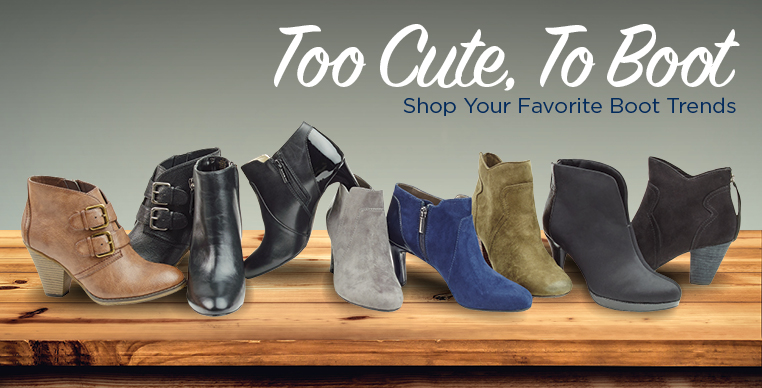 Too cute to boot. Shop your favorite boot brands
