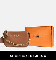 Coach Boxed Gifts