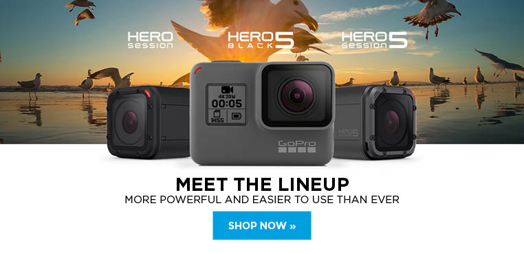 Meet the lineup of GoPro Hero cameras