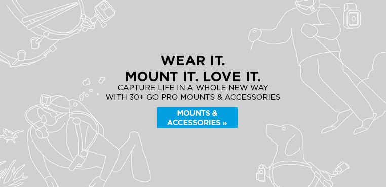 Shop 30+ GoPro mounts and accessories