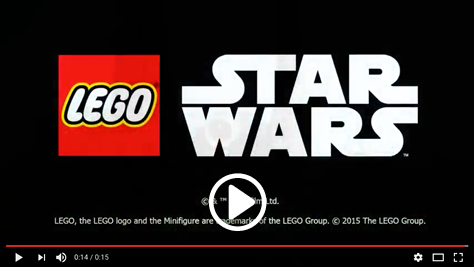 Lego Star Wars video here