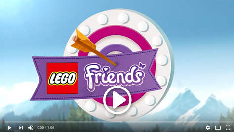 Lego Friends video here