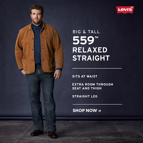 Men's Levi's Big and Tall 559 Relaxed Straight