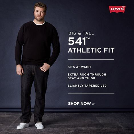 Men's Levi's Big and Tall 541 Athletic Fit
