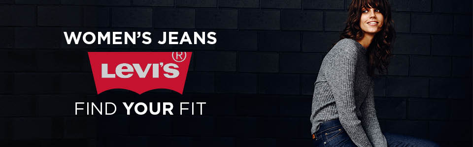 Women's Levi's. Find your fit.