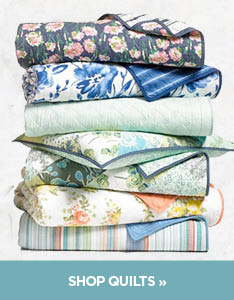 Martha Stewart Bath Quilts