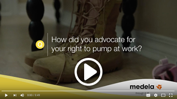 How do you advocate for your right to pump at work?