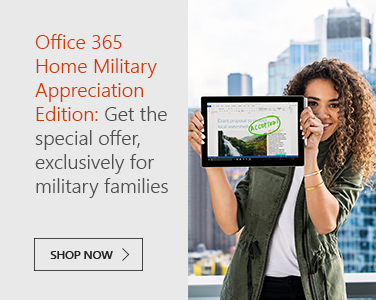 Microsoft Office 365 Home Military Appreciation Edition