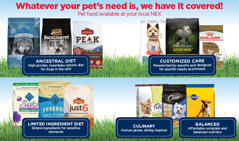 Pet Nutritional Needs