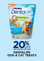 20% Off Dentalife Dog & Cat Treats