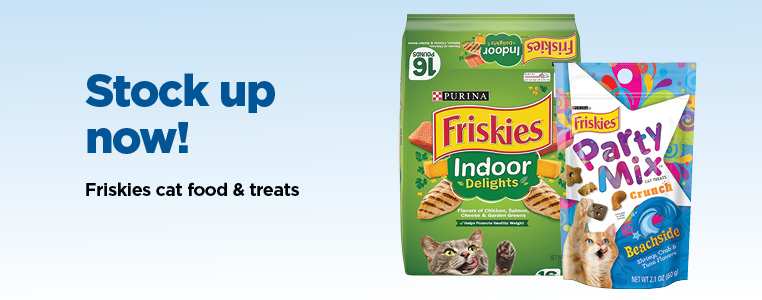 Friskies Cat Food & Treats