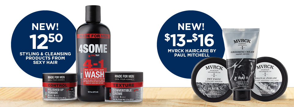 New Products in Your NEX Salon
