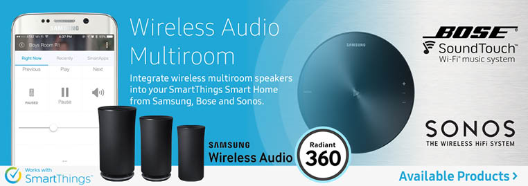 Shop for wireless multi-room audio. Samsung Radiant 360, Bose SoundTouch, and SONOS