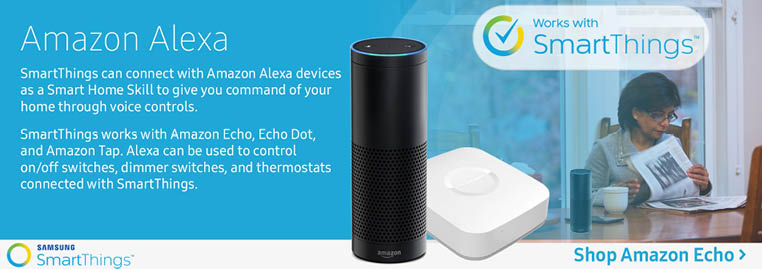 Connect your home through Amazon Alexa