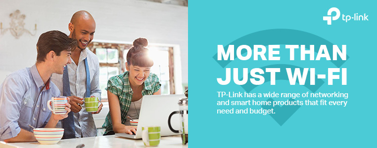 TP-Link. More than just Wi-Fi