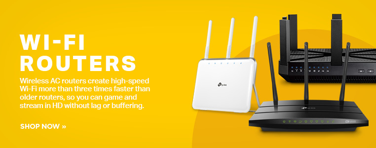 Shop Wi-Fi routers here