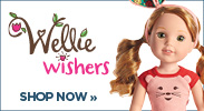 American Girl Wellie Wishers