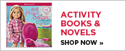 Activity Books and Novels