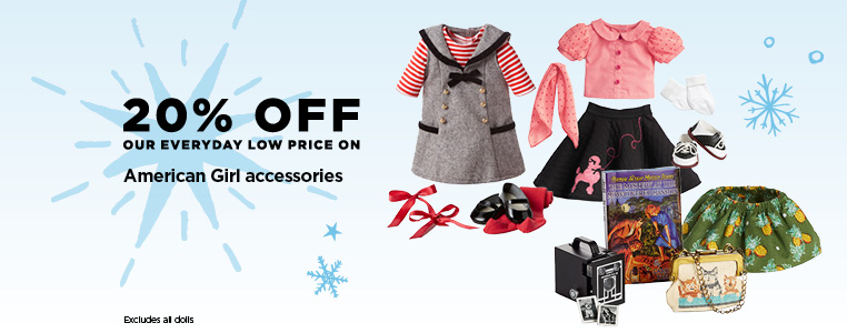 20% Off American Girl Accessories