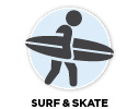 Shop surf and skate