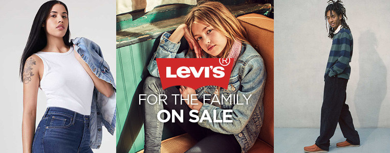 Levi's Jeans For the Family Sale