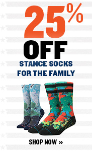 25% off Stance Sock for the Family