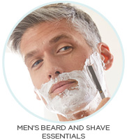 MEN'S BEARD AND SHAVE ESSENTIALS