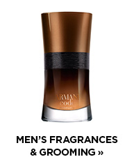 Shop men's fragrances and grooming