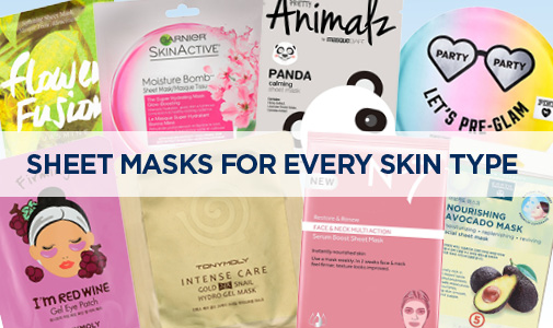 Sheet Masks for Every Skin Type