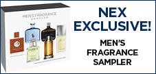 NEX Exclusive Fragrance Sampler