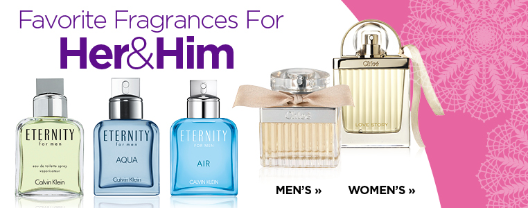 Favorite Fragrances for Her & Him