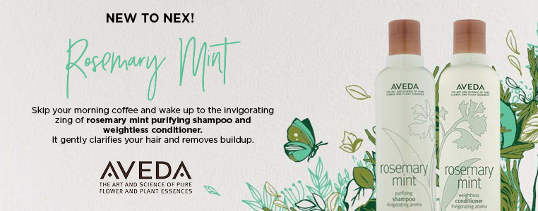NEW to NEX! Aveda