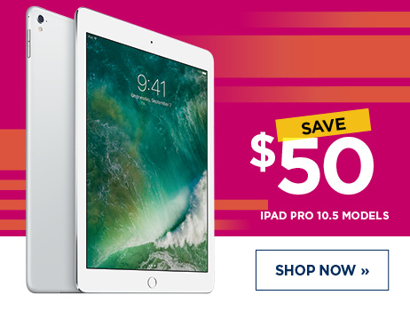$50 Off All iPad Pro 10.5 Models