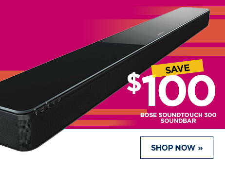 Save $100 Bose Soundtouch 300 Soundbar