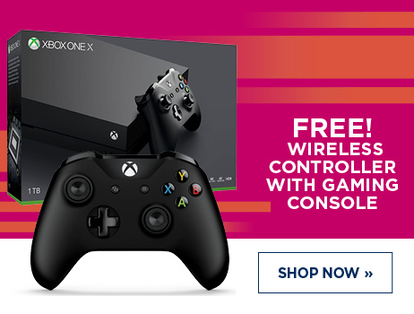 Free controller with Xbox One console purchase