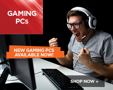 Shop new gaming PCs here