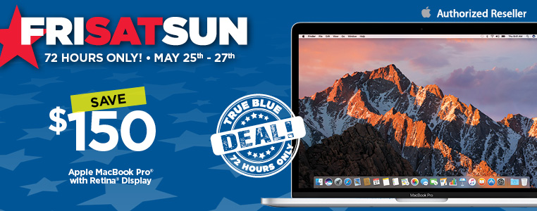 Save $150 on Apple MacBook Pro