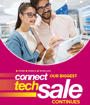 Shop our Connect tech sale