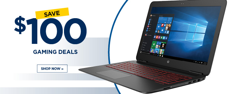 Save $100 on Gaming