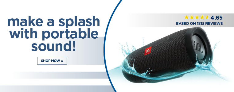 Make a splash with Portable Sound
