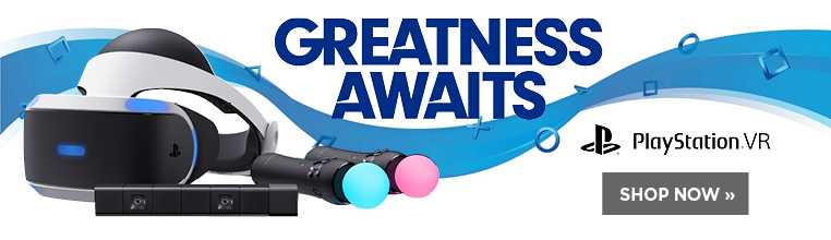 Greatness awaits in the new Playstation VR