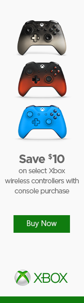 $10 Off Xbox Wireless Controller with console purchase