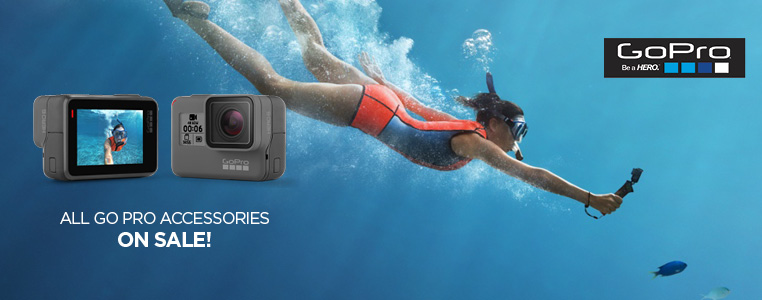 ALL GOPRO ACCESSORIES ON SALE!