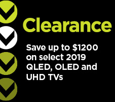 Save up to $1200 on select QLED, OLED, and UHD TVs